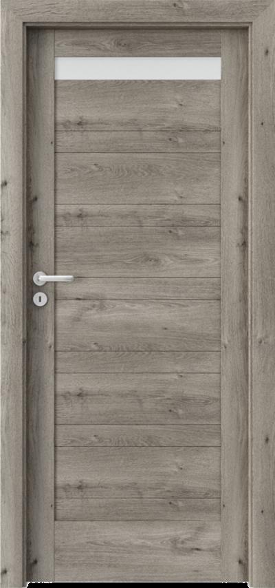 Drzwi wewnętrzne Porta VERTE HOME, D D.1 Okleina Portaperfect 3D **** Dąb Syberyjski