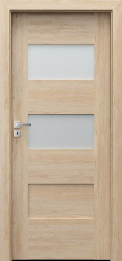 Drzwi wewnętrzne Porta KONCEPT K.2 Okleina Portaperfect 3D **** Buk Skandynawski