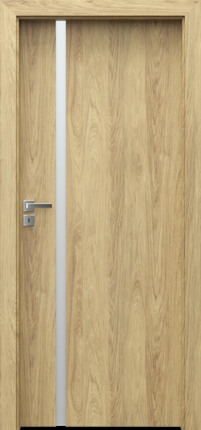 Drzwi wewnętrzne Porta FOCUS 4.A Okleina CPL HQ 0,2 ***** Hikora Naturalna