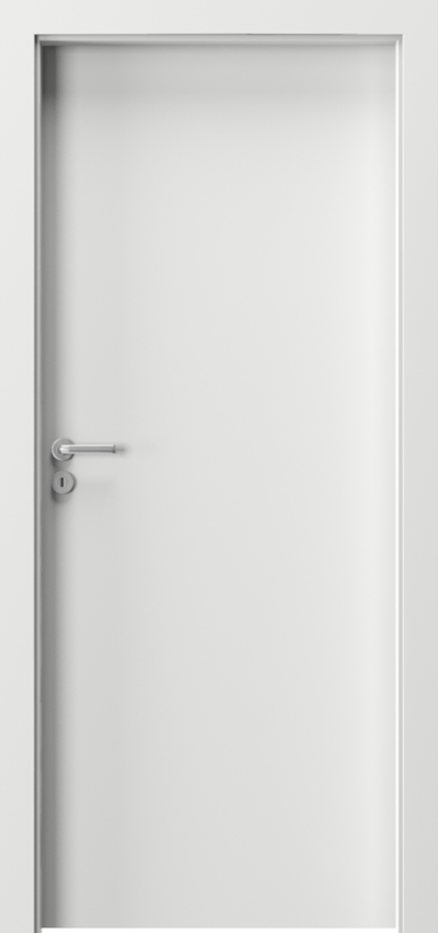 Drzwi wewnętrzne Porta VERTE BASIC pełne Płyta lakierowana Biały