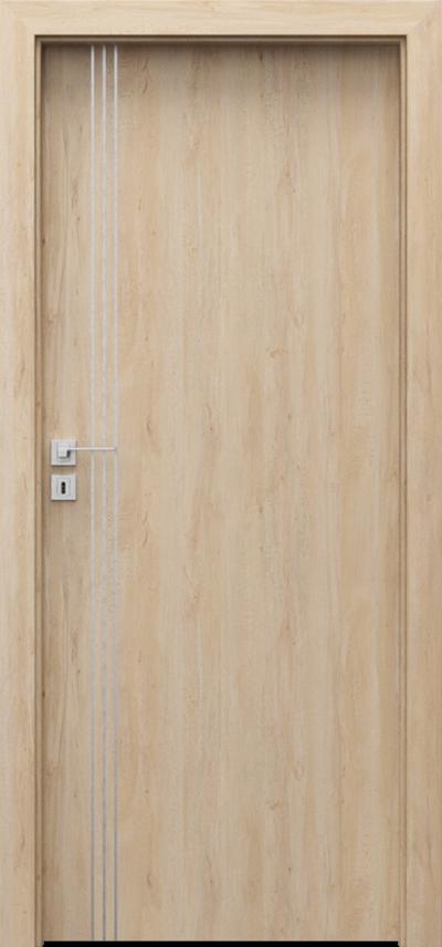 Drzwi wewnętrzne Porta LINE B.1 Okleina Portaperfect 3D **** Buk Skandynawski
