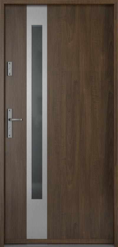 Drzwi wejściowe do domu Steel SAFE RC2 D1