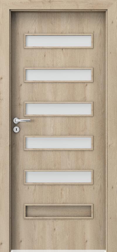 Drzwi wewnętrzne Porta FIT F.5 Okleina Portaperfect 3D **** Dąb Klasyczny