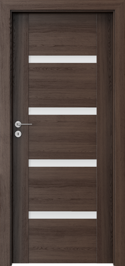Drzwi wewnętrzne Porta INSPIRE C.4 Okleina Portaperfect 3D **** Dąb Hawana