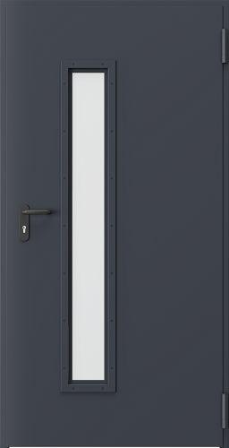 Drzwi techniczne Metalowe EI 60 3