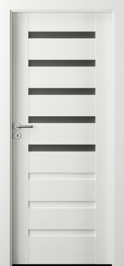 Drzwi wewnętrzne Porta VERTE PREMIUM, D D.5 Okleina Portasynchro 3D *** Wenge White