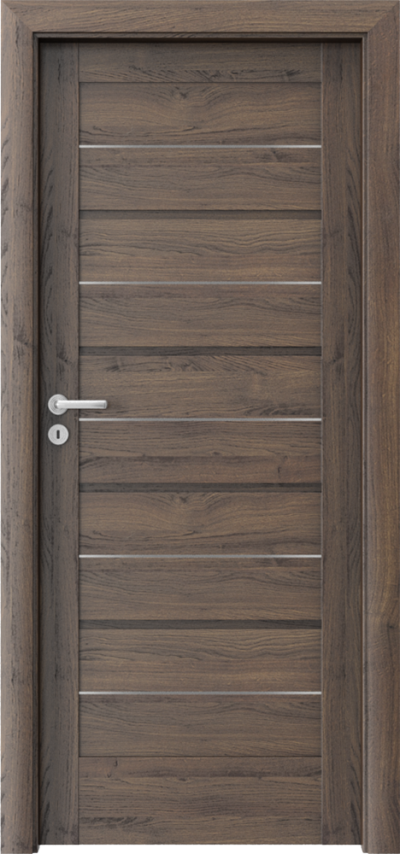 Drzwi wewnętrzne Porta VERTE HOME, G G.0 Okleina Portasynchro 3D *** Dąb Szkarłatny