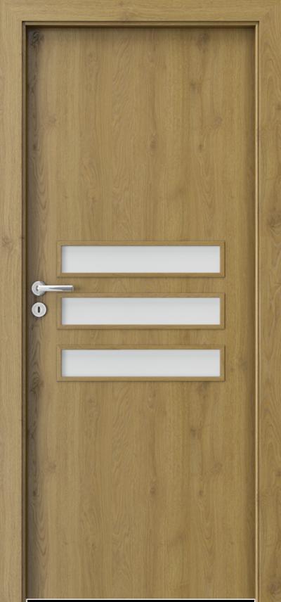Drzwi wewnętrzne Porta FIT E.3 Okleina Portaperfect 3D **** Dąb Naturalny