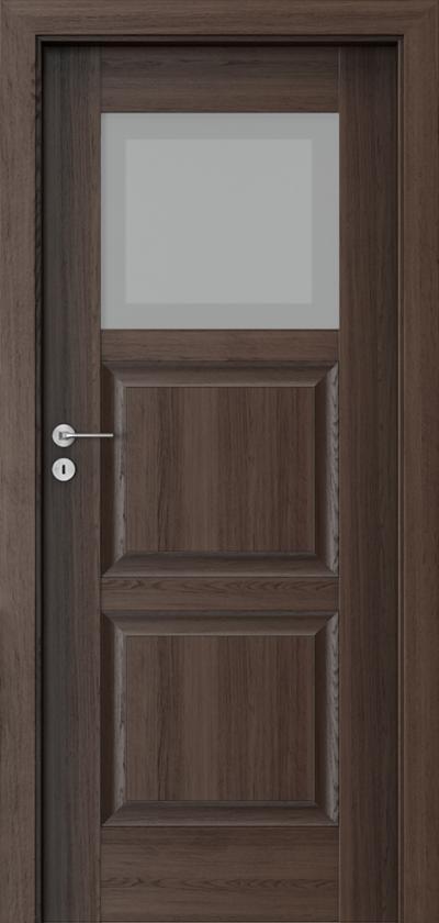Drzwi wewnętrzne Porta INSPIRE B.1 Okleina Portaperfect 3D **** Dąb Hawana