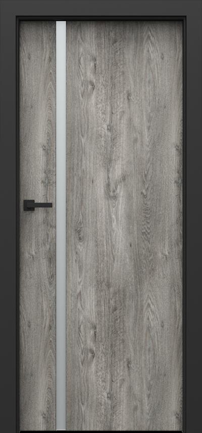 Drzwi wewnętrzne Porta LOFT 4.A Okleina Portaperfect 3D **** Dąb Syberyjski