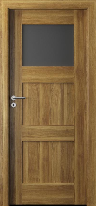 Drzwi wewnętrzne Porta VERTE PREMIUM, B B.1 Okleina Portasynchro 3D *** Akacja Miodowa
