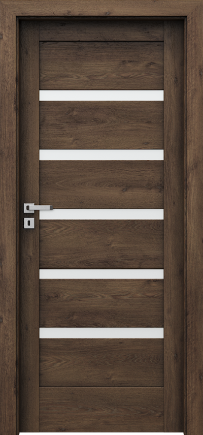 Drzwi wewnętrzne Porta VERTE HOME, H H.5 Okleina Portaperfect 3D **** Dąb Południowy