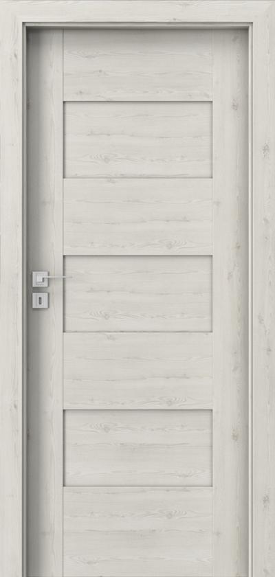 Interior doors Porta CONCEPT K.0 Portasynchro 3D veneer *** Norwegian Pine