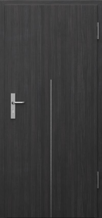 Drzwi techniczne INNOVO 37dB Intarsje 9