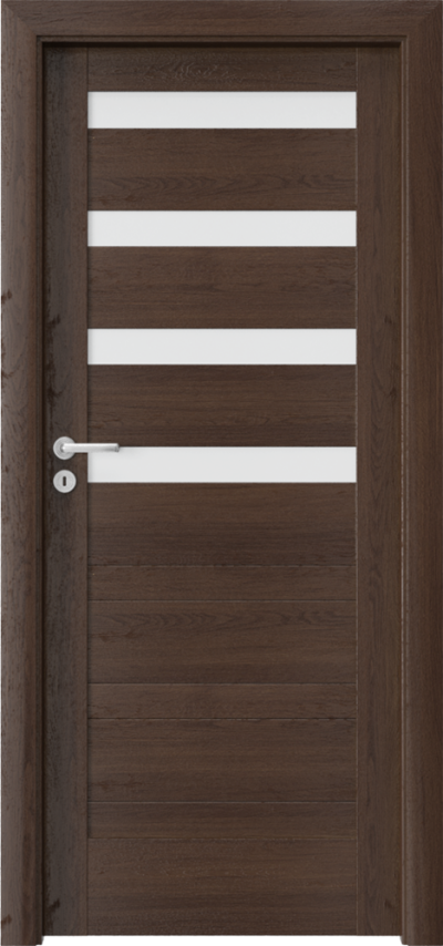 Drzwi wewnętrzne Porta VERTE HOME, D D.4 Okleina Portaperfect 3D **** Dąb Hawana