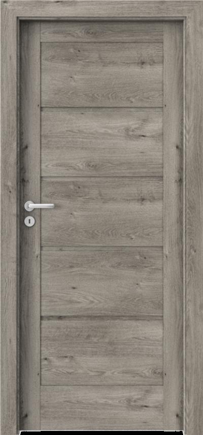 Drzwi wewnętrzne Porta VERTE HOME, G G.0 Okleina Portaperfect 3D **** Dąb Syberyjski