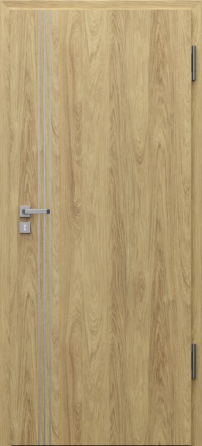 Podobne produkty                                  Drzwi wejściowe do mieszkania                                  Porta SILENCE 37 dB + EI30 intarsje 3