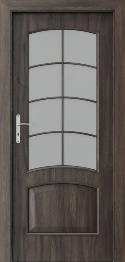 Drzwi wewnętrzne Porta NOVA 6.4 Okleina Portasynchro 3D *** Dąb Ciemny