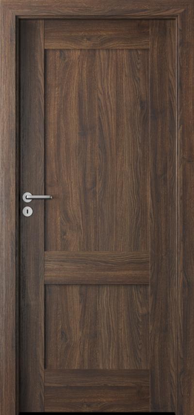Drzwi wewnętrzne Porta VERTE PREMIUM, C C.0 Okleina Portasynchro 3D *** Dąb Szkarłatny