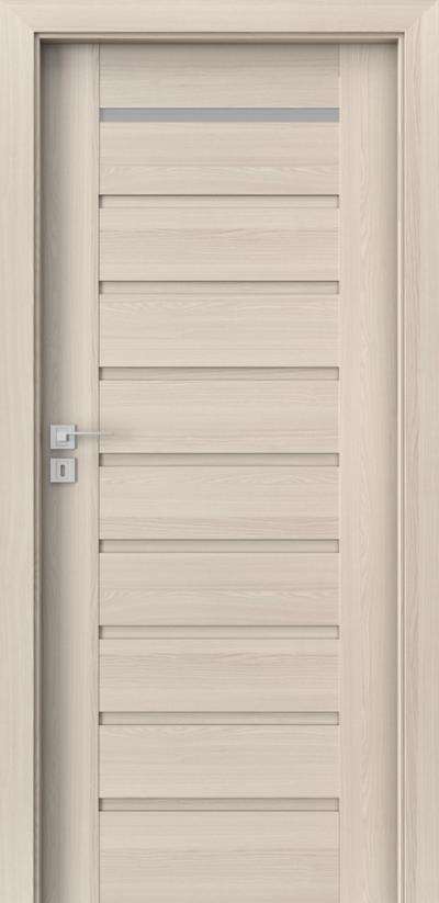 Interior doors Porta CONCEPT A.1 Portadecor veneer *** White Walnut