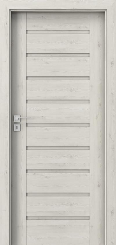 Drzwi wewnętrzne Porta KONCEPT A.0 Okleina Portasynchro 3D *** Sosna Norweska