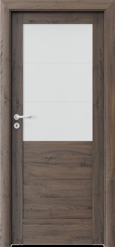 Drzwi wewnętrzne Porta VERTE HOME, B B.3 Okleina Portasynchro 3D *** Dąb Szkarłatny