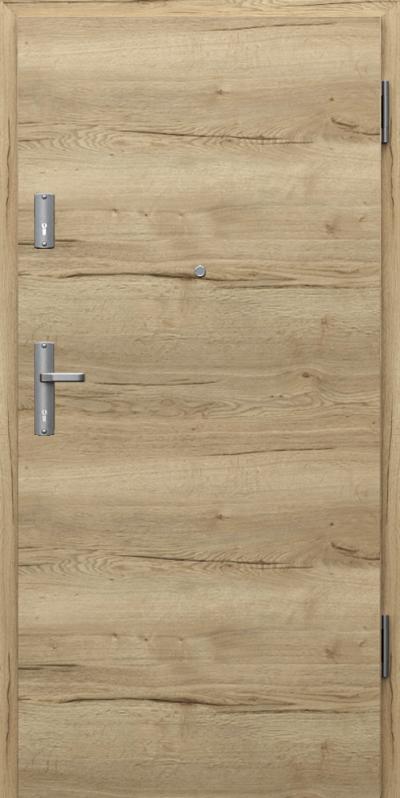 Drzwi wejściowe do mieszkania EXTREME RC3 płaskie poziom