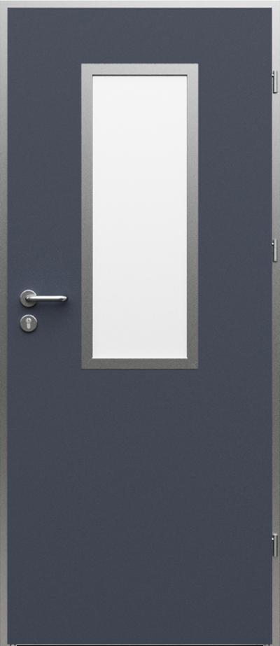 Technické dveře AQUA 1 Laminát HPL ****** Antracit HPL CPL