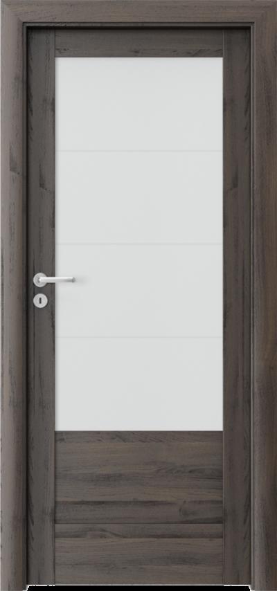 Drzwi wewnętrzne Porta VERTE HOME, B B.4 Okleina Portasynchro 3D *** Dąb Ciemny