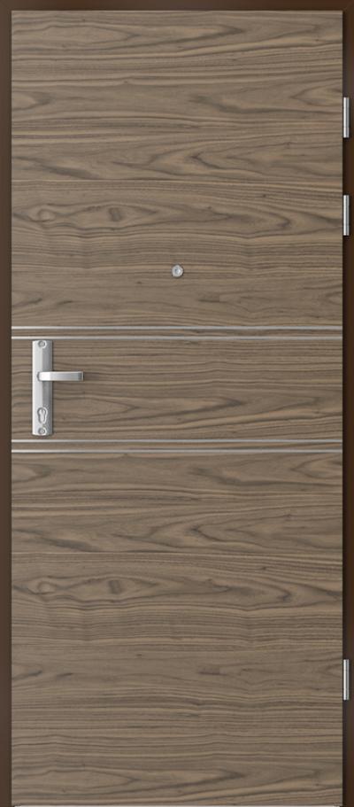 Drzwi wejściowe do mieszkania EXTREME RC3 intarsje 4