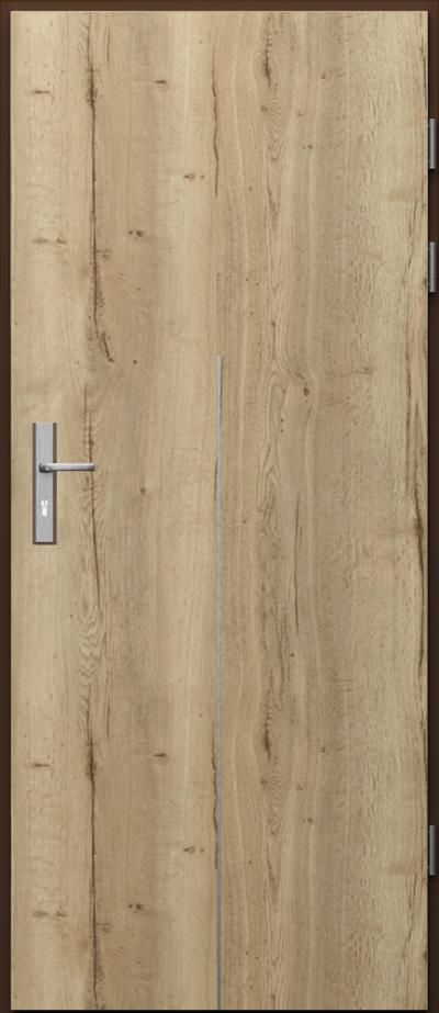 Podobne produkty                                  Drzwi techniczne                                  Akustyczne 27dB ukł. pionowy + intarsje 9