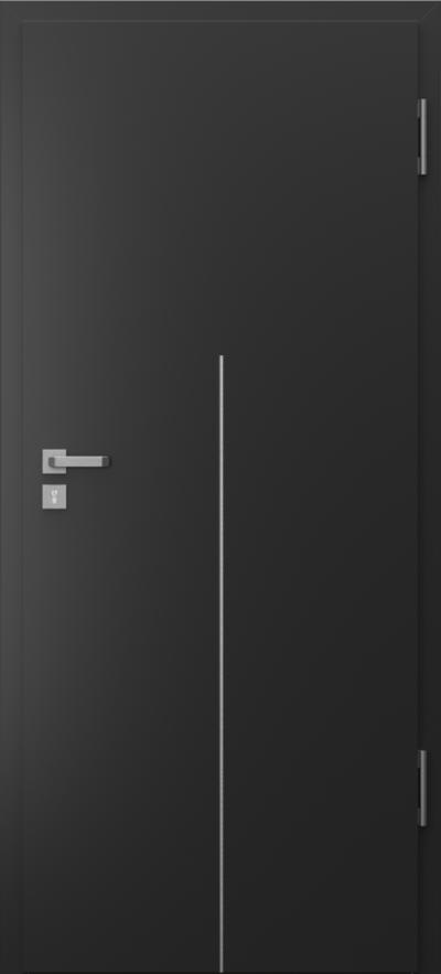 Drzwi techniczne Porta SILENCE 37 dB intarsje 9