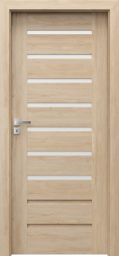 Drzwi wewnętrzne Porta KONCEPT A.7 Okleina Portaperfect 3D **** Buk Skandynawski