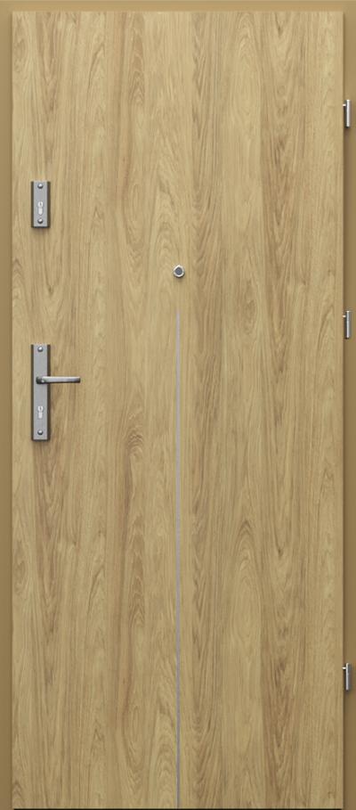 Drzwi wejściowe do mieszkania OPAL RC2 intarsje 9