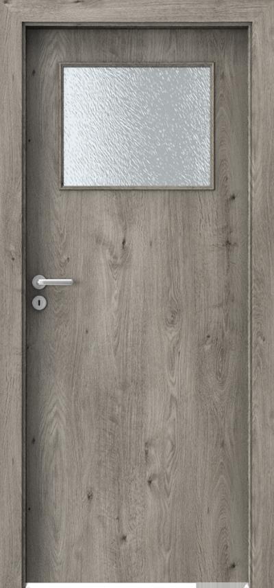 Drzwi wewnętrzne Porta DECOR M Okleina Portaperfect 3D **** Dąb Syberyjski