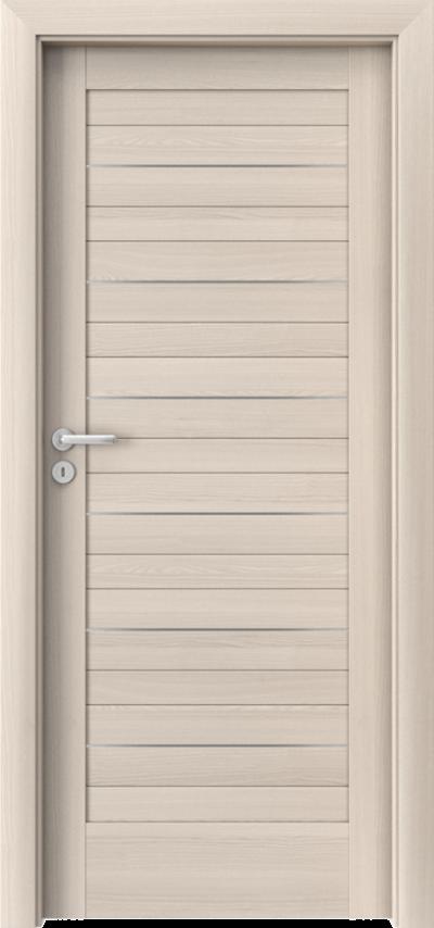 Drzwi wewnętrzne Porta VERTE HOME, D D.0 intarsje Okleina Portadecor *** Orzech Bielony