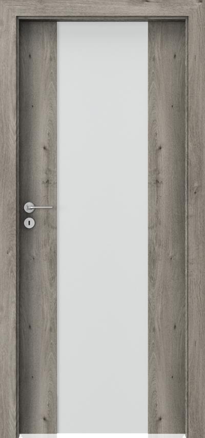 Drzwi wewnętrzne Porta FOCUS 4.B Okleina Portaperfect 3D **** Dąb Syberyjski
