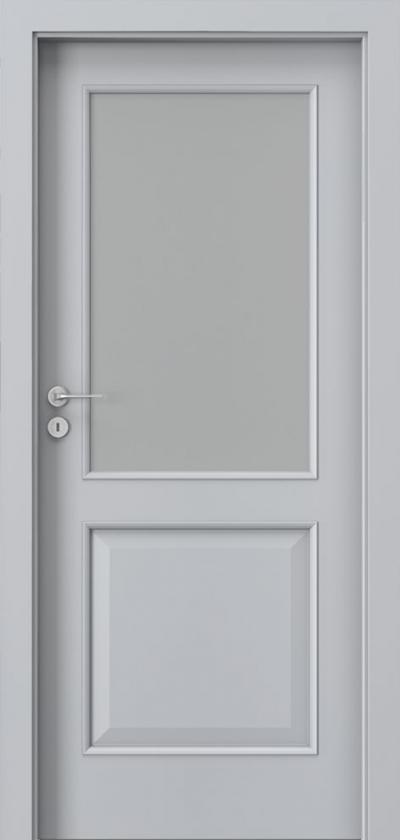 Drzwi wewnętrzne Porta NOVA 3.2 Okleina Portadecor *** Popielaty Euroinvest