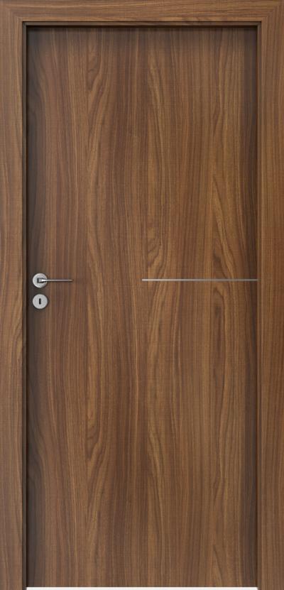 Drzwi wewnętrzne Porta LINE G.1 Okleina CPL HQ 0,2 ***** Orzech Modena 1