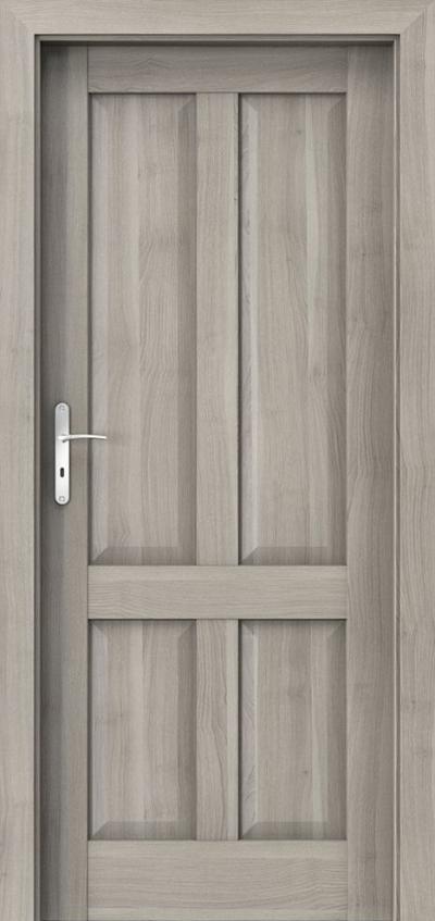 Drzwi wewnętrzne Porta HARMONY A.0 Okleina Portasynchro 3D *** Akacja Srebrna