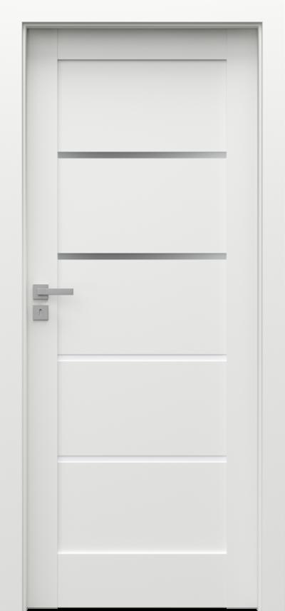 Drzwi wewnętrzne Porta GRANDE G.2 Farba Akrylowa UV ***** Biały