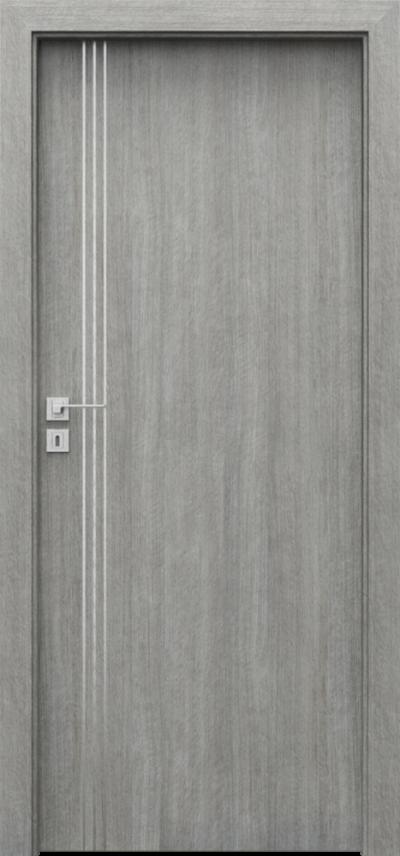 Drzwi wewnętrzne Porta LINE B.1 Portalamino**** Dąb Srebrzysty