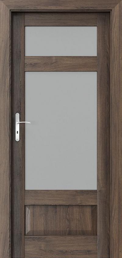 Drzwi wewnętrzne Porta HARMONY C.2 Okleina Portasynchro 3D *** Dąb Szkarłatny