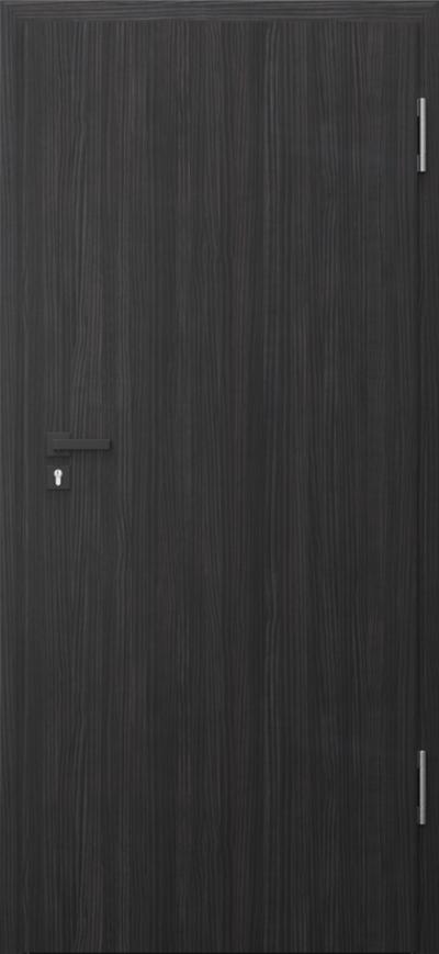 Drzwi techniczne PURE 57dB Pure 57 dB Okleina CPL HQ 0,2 ***** Struktura ciemny