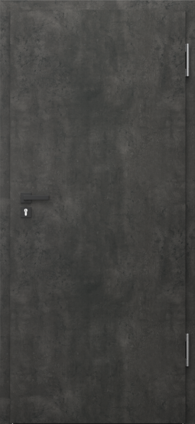Drzwi techniczne PURE 57dB Pure 57 dB Okleina CPL HQ 0,2 ***** Beton Ciemny