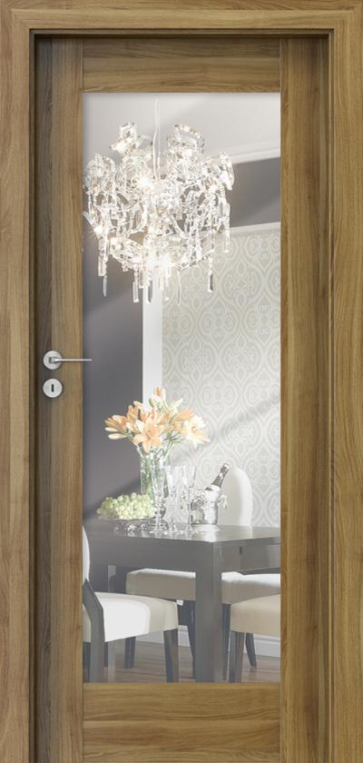 Drzwi wewnętrzne Porta INSPIRE A.1 Okleina Portasynchro 3D *** Akacja Miodowa