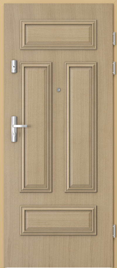Drzwi wejściowe do mieszkania KWARC ramka 4