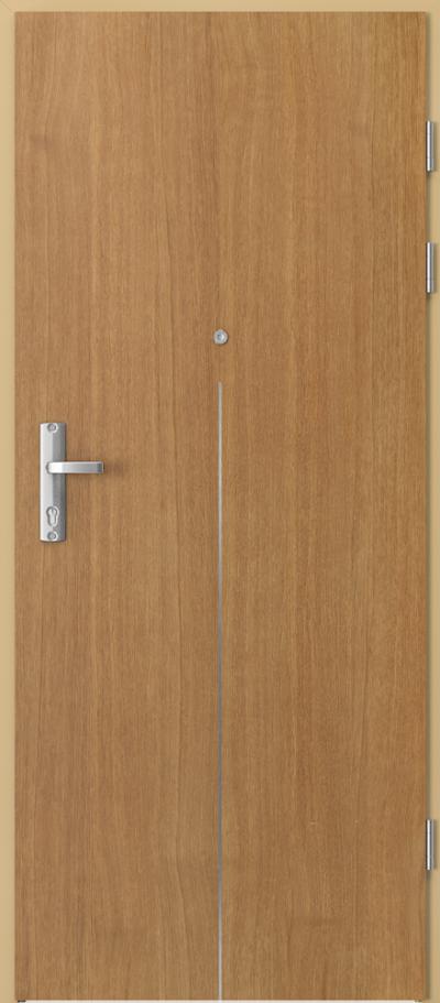Drzwi wejściowe do mieszkania EXTREME RC3 intarsje 9