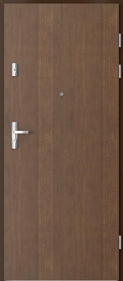 Drzwi wejściowe do mieszkania GRANIT pełne - pion