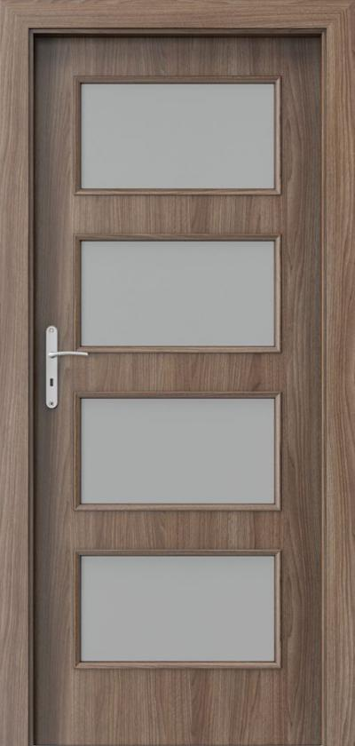 Drzwi wewnętrzne Porta NOVA 5.5 Okleina Portadecor *** Orzech Verona 2